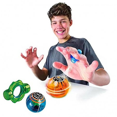 Luminous glowing magnetic ball fidget spinner