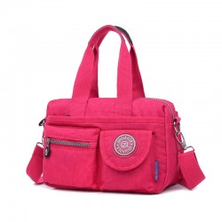 Nylon shoulder crossbody bag waterproof