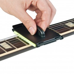 Electric guitar bass strings scrubber fingerboard rub cleaner