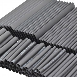 Heat shrink tube electrical insulation cable wrap 127 pcs
