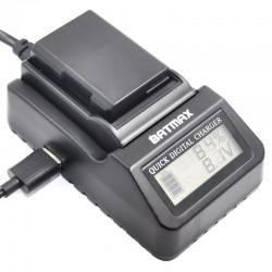 Caricabatterie multiuso digitale EN-EL14 LCD per Nikon