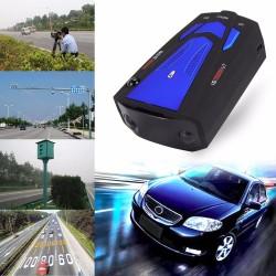 Rilevatore radar laser per auto con avviso vocale con V7 16 LED display