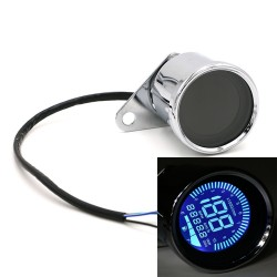 12V digital LED LCD universal motorcycle speedometer odometer