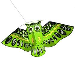 Aquilone gufo volo facile 110 * 50cm