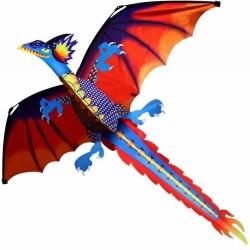 Aquilone drago colorato 140 * 120cm