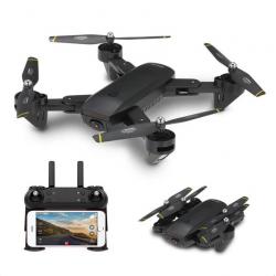 DM DM107 WIFI FPV Dual 2MP Camera Optical Flow Altitude Hold Foldable RC Drone Quadcopter