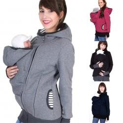 Kangaroo Pouch hoodie jacket baby carrier hooded