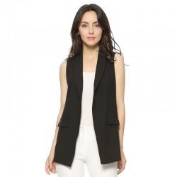 Elegant sleeveless coat vest
