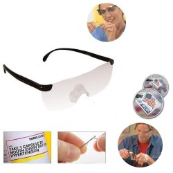 Occhiali ingrandenti per presbiopia ingrandimento 160