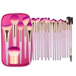 Professional makeup brush set with zipper case bag 26 pcs