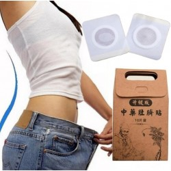 Slimming navel stickers lose weight fat burning patches 10 pcs