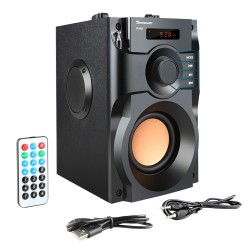 Autoparlante con display LCD RS-A100 wireless bluetooth