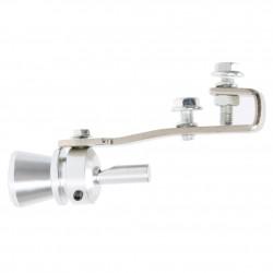 Universal car turbo sound whistle muffler exhaust pipe
