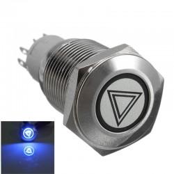 Bottoni per auto illuminati autobloccanti impermeabili 16mm LED