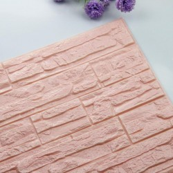 3D brick foam waterproof wallpaper 60x30cm