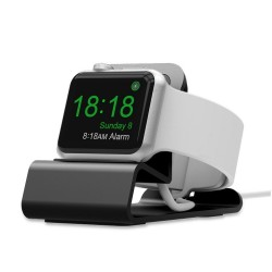 Estación de carga de metal - soporte de soporte para Apple Watch 5/4/3/2/1 - soporte