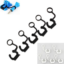 GoPro Hero 3 / 3 + soft silicone rubber lock plug 5 pcs set