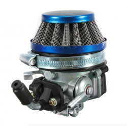 Carburetor & air filter for 49cc 50cc 60 66 80cc 2 stroke motorbike