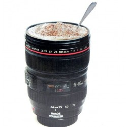 Camera lens design coffee mug 420 ml