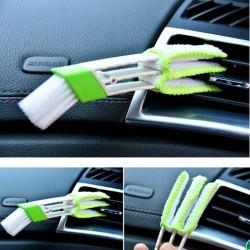 Scopa per pulizia auto doppia