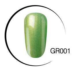 UV LED green soak-off nail gel polish 10ml