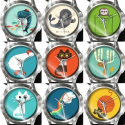 Women's & children's analog quartz watch