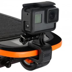 Skateboard motorcycle handlebar - rotated clamp mount - bracket holder for GoPro Hero Action Camera