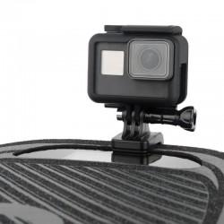 Skateboard motorcycle handlebar - rotated clamp mount - bracket holder for GoPro Hero Action