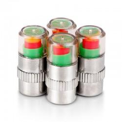 Air alert - universal - car tire valve cap 4 pcs