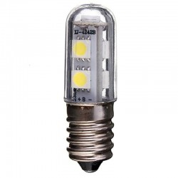 E14 1W 220V AC 7 LED SMD 5050 lamp bulb for refrigerator & fridge