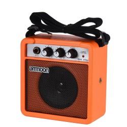 Mini amplificatore portatile da 5 W e altoparlante per chitarra e ukulele - batteria integrata