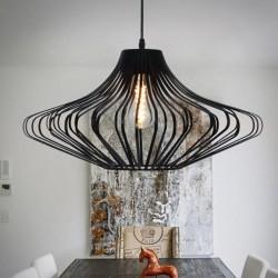 Vintage Edison light - aluminum lamp
