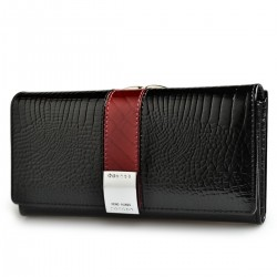 Alligator skin - genuine leather wallet