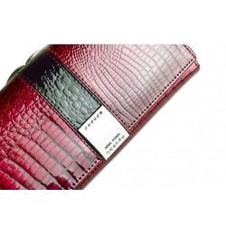 Alligator skin - genuine leather wallet