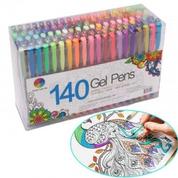 Fluorescent - colorful - gel drawing pens 24 / 48 pcs