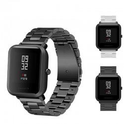20 millimetri Universale di Ricambio Watch Band Acciaio Lite Maglia cinturino In Metallo per Huami X