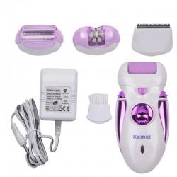 4 in 1 Elettrico Ricaricabile Epilatore Femminile per Sotto Le Ascelle Bikini Rimozione Dei Capelli