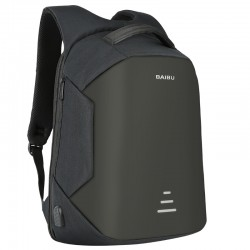 Anti-theft backpack with USB charging - waterproof - 15.6-inch laptop bag