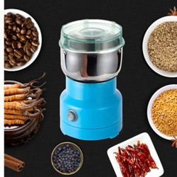 Mini electric food chopper - blender for salt & pepper & herbs