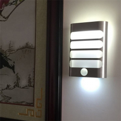 Led PIR Motion Sensor Night Light For Fence Garden Corridor