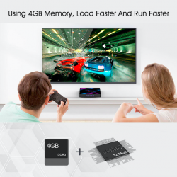 H96 MAX - 4GB RAM 64GB ROM - 5G - WIFI -Bluetooth 4 - Android 9 - 4K VP9 H.265 - TV Box