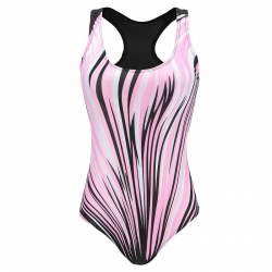 One-piece sport swimsuit - spandex