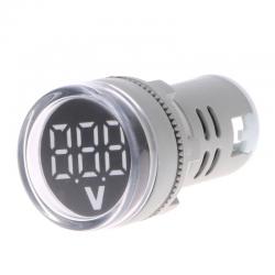 22mm Display Digitale A LED Gauge Volt di Tensione del Tester di Indicatore Del Segnale Lampada Volt