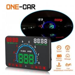 Schermo per auto con indicatore velocità e benzina GEYIREN E350 OBD2 II HUD 5.8 Inch