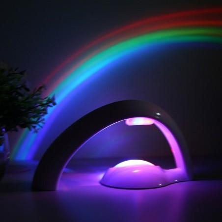 LED colorful rainbow projector - night light