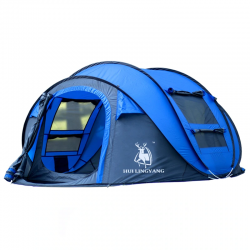 Outdoor automatic tents for hiking