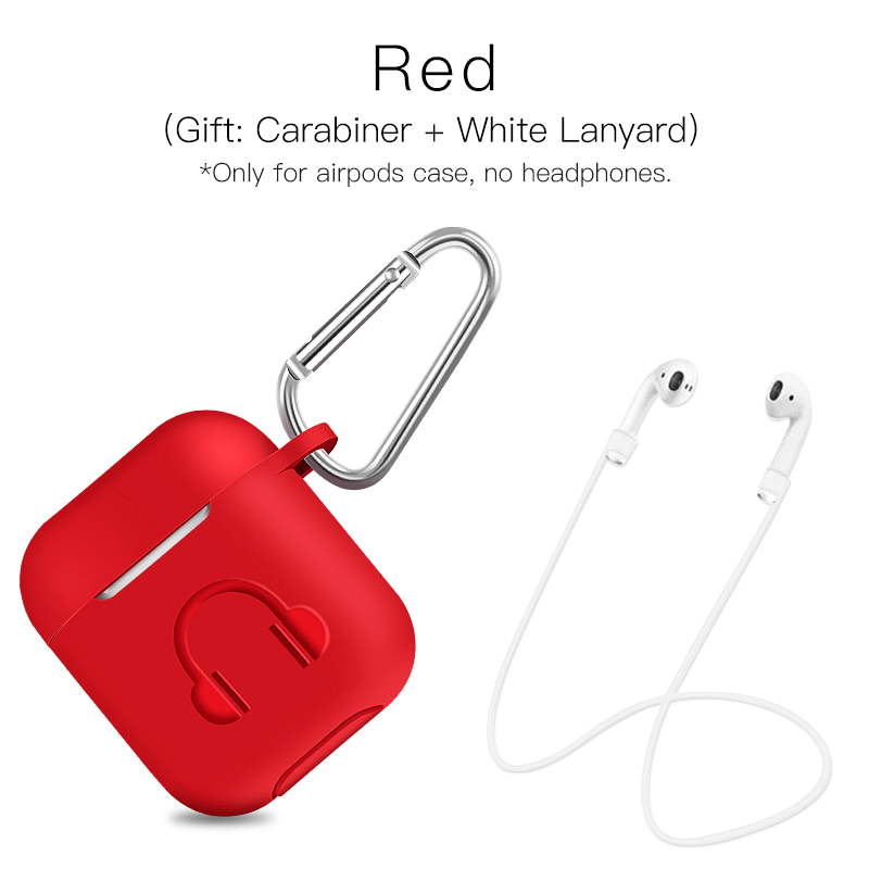 Soft silicone earphone case for Apple airpods