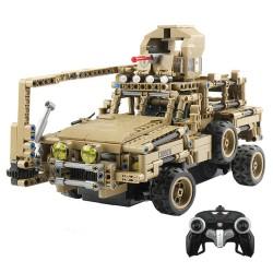 MoFun MZ6003 2.4G 1/12 military RC car block 768 pcs