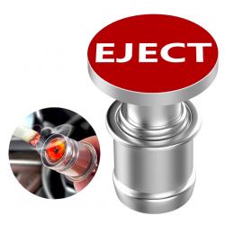 12V EJECT & FIRE MISSILE - pulsante per accendisigari