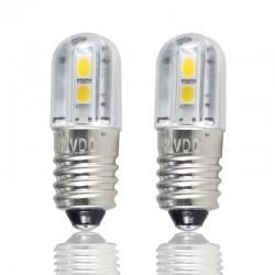 E10 - DC 6V 12V 24V 36V 48V - Lampadina a LED - Luce interna 4 pezzi